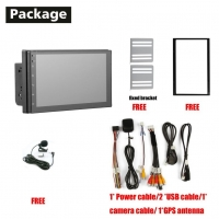Cheap Car DVD Player Headunit Android System Universal 7inch 1+16G Android 10.0 for sale