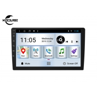 Cheap CAR RADIO 9 Inch Universal Car DVD Player 2din Car Radio Screen Mirroring BT FM GPS Wifi DSP 2.5D Glass for sale