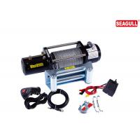 Cheap 3 Stage Planetary Electric ATV Winch 8500lb For Building With 4.0KW / 5.5HP Motor for sale