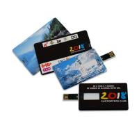 China Plastic 64M, 126M, 256M, 2G, 4G 16GB ultra thin credit card shaped usb flash drive promotional on sale