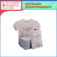 Cheap A4 printing A+B Laser self weeding for light colored fabric all color laser printer heat transfer paper for sale