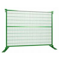 "Buy cheap 6'x9' construction temporary fence panels 2""x4"" mesh opening from wholesalers"