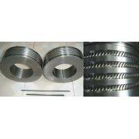 Cheap large size high WC cemented Carbide Roll Rings and Tungsten Carbide Roller for sale