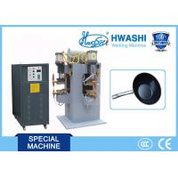 Buy cheap Hwashi Chinese Supplier good Cookware 304 Stainless Steel spot Welding Machine from wholesalers