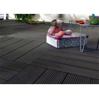 Cheap Wood  Plastic Composite Easy install Home-decorating DIY Decking Tiles for sale