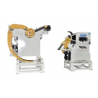 Cheap 50HZ Decoiler Straightener Feeder For 4.5mm Thickness Metal Sheet Stamping for sale