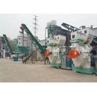 China 1-5TPH Automatic Complete Wood Pellet Production Line Wood Pellet Manufacturing Plant on sale