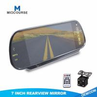 Cheap High Resolution Monitor Rear View Mirror Vehicle Reverse Camera Systems for sale