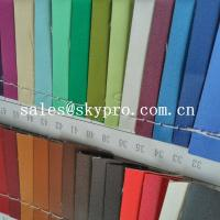 Cheap High Quality PU Synthetic Leather Material For Shoes with Crumpled Pattern for sale