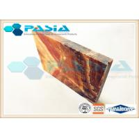 Cheap UAE Onyx Veneer Honeycomb Ceiling Panels For Luxurious Indoor Building Decoration for sale