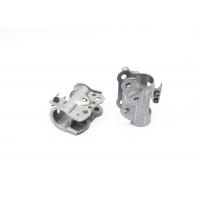 Cheap Stamping Bracket Shock Absorber Parts With SAE1010 Of Nickel Plated for sale