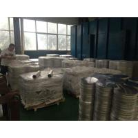 Cheap Utensils Alloy Round 3003 Aluminum Disc Silvery Surface OD 120mm - 1300mm for sale