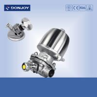 China Sanitary multiport  Sanitary Diaphragm Valve  for pharmaceutical industry on sale