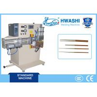Cheap Copper / Aluminum Tube Butt Welding Machine Automatic HWASHI 8-10 Years Service Life for sale