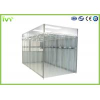 Cheap Portable Clean Room Environment , Industrial Clean Room Clean Grade Class 100 - 100000 for sale