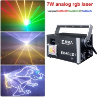 Cheap MINI 5.5W Analog Modulation RGB laser with SD Card,outdoor Rgb Laser Light with 30k-40K-50k Scanner for sale