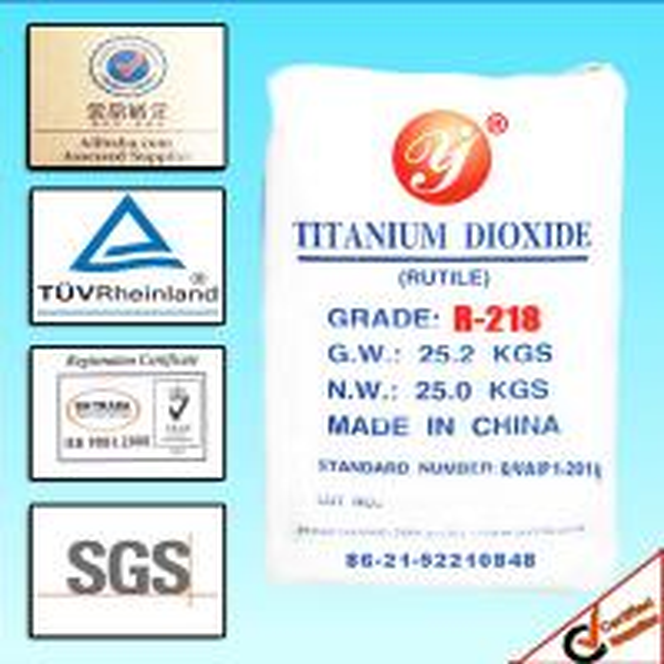 Industrial Grade Advanced Rutile Titanium Oxide Powder R218 For