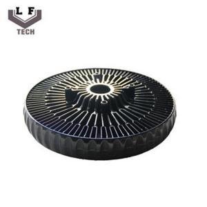 Buy cheap ADC12 Powder Coating Aluminium Die Castings Sun Flower Aluminum CPU Heat Sink from wholesalers