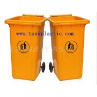 Cheap 240L Plastic waste bins with CE certificate for sale