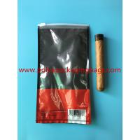 Cheap Customized Printed Small Cigar Humidor Bags / Cigar Packaging Bag for sale
