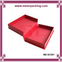 Creative low price hard paper matte humdrum packaging gift box for wedding photo album Manufactures