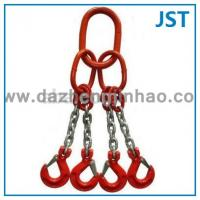 Cheap G80 Quadruple Chain Slings, Four Legs Lifting Chain Slings for sale