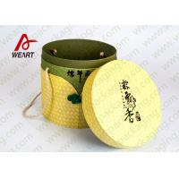 Cheap Festival Used Lidded Cardboard Storage Boxes For Food Environment Friendly Material for sale