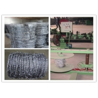 Cheap 360mm Double Filament Gi Barbed Wire Fencing for sale