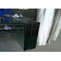 Cheap Temperable Grade Tempered Safety Glass , Flat Solid Toughed Glass for sale
