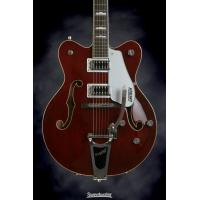 Cheap Hollowbody Trans Red Gretsch G5422TDC Electromatic Double Neck Guitar Cutaway for sale