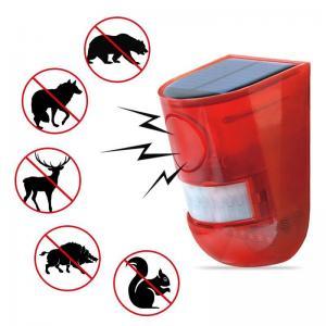 Cheap Flashing Solar Sound Alarm Strobe Light Motion Sensor Security Alarm System Siren for Home Villa Farm Hacienda Apartment for sale