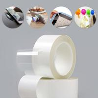 Cheap Removable Washable Grip Reusable Tape for Hook , Photos , Phone Holder and Carpet for sale