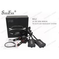 Cheap DC10 - 30V 40W Automotive LED Headlights H4 4000LM 6000k IP68 For Trucks for sale