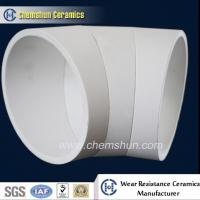 Cheap Wear Resistant Alumina Ceramic Pipe Liner for Material Conveying System for sale
