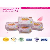 Cheap Healthy OEM Sanitary Napkins , Menstrual Period Disposable Sanitary Pads for sale