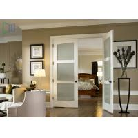 Buy cheap Aluminium Alloy Arched Exterior Swing Doors , Series 90 Double Hinged Door Mechanism from wholesalers