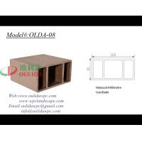 Cheap plastic lumber OLDA-08 160*80mm for sale