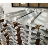 Cheap Brushed Anodizing Aluminum Extrusion Profiles Products For Air Conditioner Panel for sale