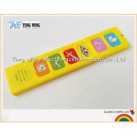 Cheap Popular 6 Button Sound Book Module Indoor Educational Toys for sale