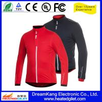 Cheap FIR heated winter clothing, motorcycle coat for sale