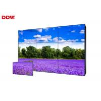 Cheap Horizontal Multi Screen Video Wall / Samsung Seamless LCD Video Wall for sale
