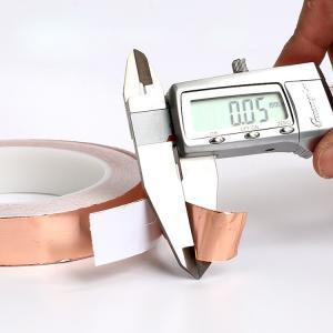 Cheap Die Cutting Copper Foil EMI RFI Shielding Tape 0.05mm Thickness for sale