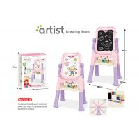 Cheap Toddlers Arts And Crafts Toys Magnetic Drawing Boards W / Stand 2 Sides Painting for sale