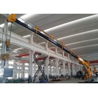 China Tailor Made Marine Deck Crane , 10T 25M Hydraulic Marine Dinghy Cranes on sale