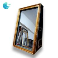China cheap portable 3D magic mirror photo booth case for shopping mall