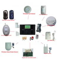 Cheap Mobile Phone Remote Control Home GSM Alarm System for sale