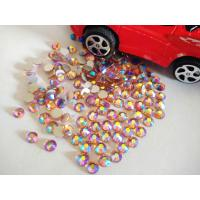 Buy cheap champagne ab crystals flatback rhinestones nail art crystal stones decor from wholesalers