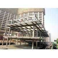 Cheap Multi-storey steel structure platform mezzanine floor building for sale