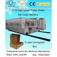 Cheap Fully Automatic Carton Making Machine With 7.2mm Thickness Of Printing Plate for sale