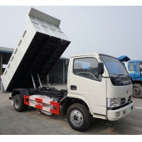 Cheap 4x2 10T Dongfeng 95HP LHD Used Dump Truck 2021 Year for sale